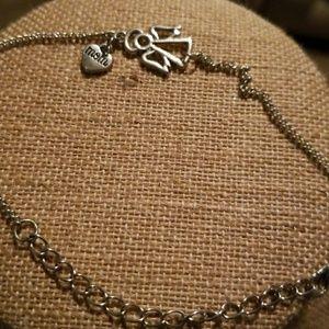 Mom angel bracelet